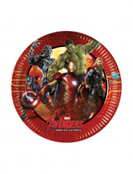 8 Pratos para sobremesa Avengers™
