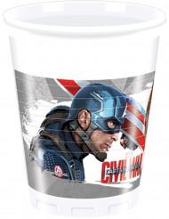 8 Copos Avengers Civil War™