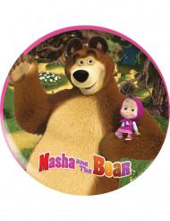 Prato de plástico Masha e o Urso™