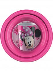 Jogo de louça de plástico Minnie™