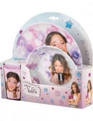 Jogo de louça de plástico Violetta™