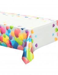 Toalha de plástico balões 120 x 180 cm