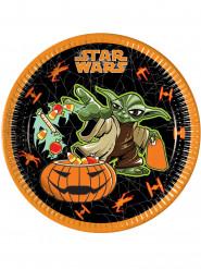 8 Pratos Star Wars™ Halloween
