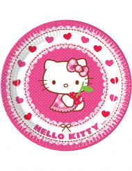 8 Pratos Hello Kitty™