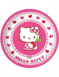 8 Pratos Hello Kitty™