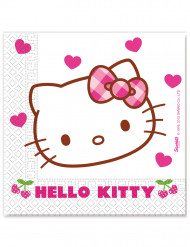 20 Guardanapos Hello Kitty™