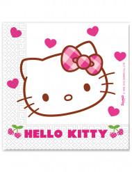 20 Guardanapos Hello Kitty™