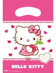 6 Sacos de festa Hello Kitty