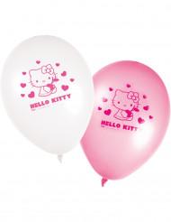 8 Balões hello Kitty™