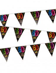 Grinalda 20 bandeirolas 60 anos Fogo de artificio
