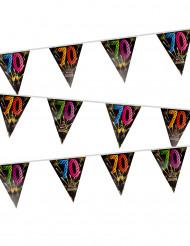 Grinalda 20 bandeirolas 70 anos Fogo de artificio
