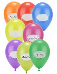 8 Balões para personalizar