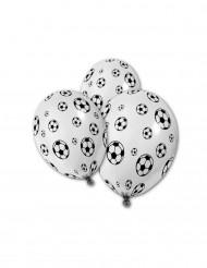 5 Balões imprimidos de Balão de futebol