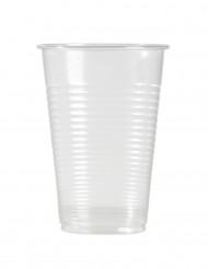 100 Copos de Plástico transparentes