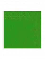 50 Guardanapos verdes