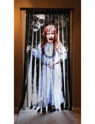 Cortina para porta Exorcismo™ Halloween