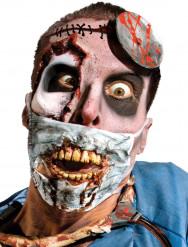 Máscara de cirurgião zombie adulto Halloween