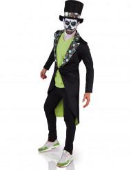 Disfarce Dia de los muertos homem Halloween