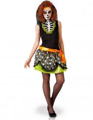 Disfarce Dia de los muertos melher Halloween