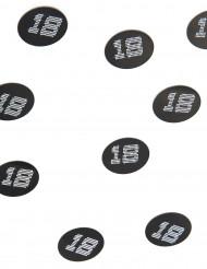 150 Confetis de mesa VIP 18 anos