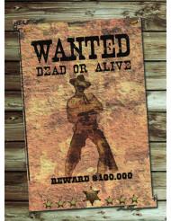 Cartaz Wanted