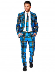 Fato Mr. Escocês azul homem Opposuits™