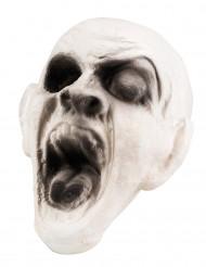 Decoração cabeça de zombie 15 x 15 cm Halloween