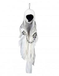 Disfarce esqueleto fantasma Halloween
