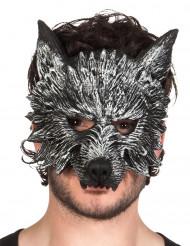 Máscara lobisomem para adulto