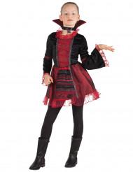 Disfarce imperatriz vampiro menina Halloween