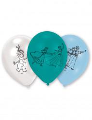 6 Balões azuis Frozen™