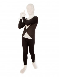 Disfarce Morphsuits™ Preto e Branco criança