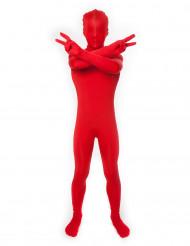Disfarce macacão Morphsuits™ Vermelho criança