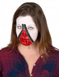 Kit de maquilhagem fecho éclair adulto Halloween