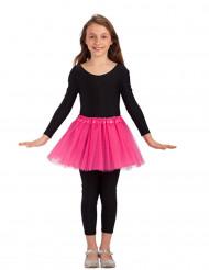 Tutu cor-de-rosa menina