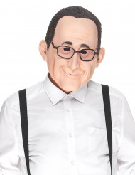 Máscara humorística de látex François adulto