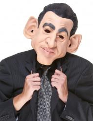 Máscara humorística de látex Nicolas adulto
