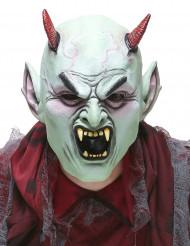 Máscara de látex diabo furioso adulto Halloween