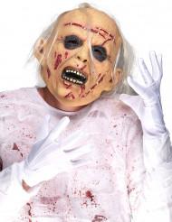 Máscara de látex idoso cadavérico adulto Halloween