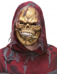 Máscara látex esqueleto comedor de répteis adulto Halloween