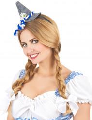 Bandolete com mini chapéu bávaro adulto