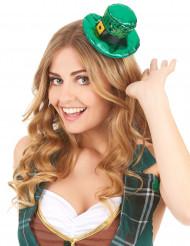 Mini chapéu verde São Patrício adulto