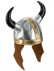 Capacete de viking metálico adulto