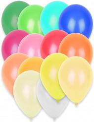 50 Balões de várias cores