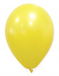 50 Balões amarelos