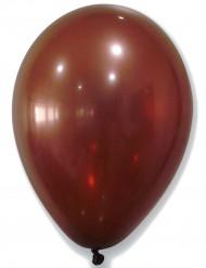 50 Balões castanhos metalizados