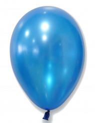 50 Balões azuis metalizados