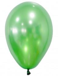 50 Balões verdes metalisados