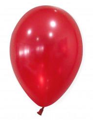 50 Balões vermelhos metalizados