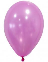 50 Balões cor-de-rosa metalizados
